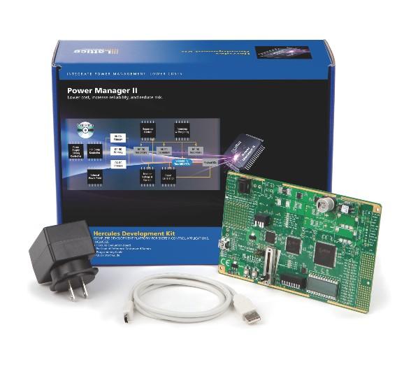 Das Power Manager II Hercules Development Kit von Lattice Semiconductor, erhältlich bei MSC