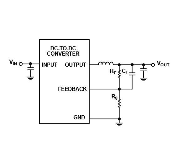 Bild 7: Paralleler Kondensator reduziert HF-Impedanz und minimiert Oszillieren