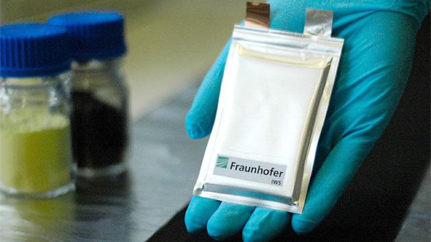 Ein Lithium-Schwefel-Akku im Pouch-Bag-Format, der am Dresdner IWS entwickelt wurde. Das Problem sind noch die Ladezyklen.