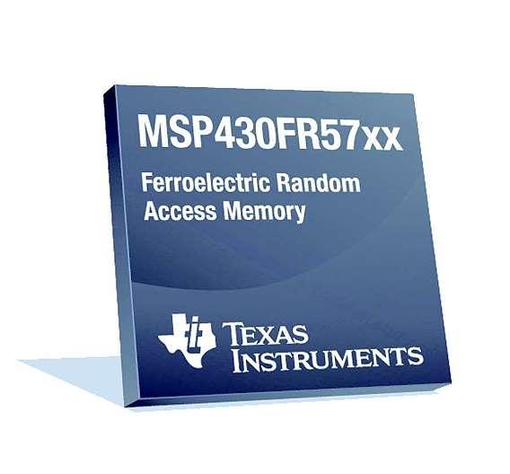 Bild 4: Einige Derivate der Low-Power-Architektur »MSP430« verfügen über besonders stromsparenden FRAM-Speicher