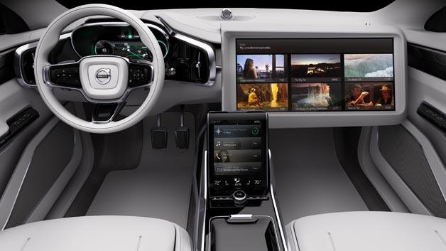 Volvo und Ericsson erarbeiten intelligente Breitband-Streaming-Dienste für automatisiertes Fahren.