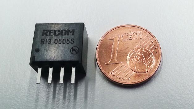 Der neue 3-Watt-Wandler von Recom im SIP4-Gehäuse