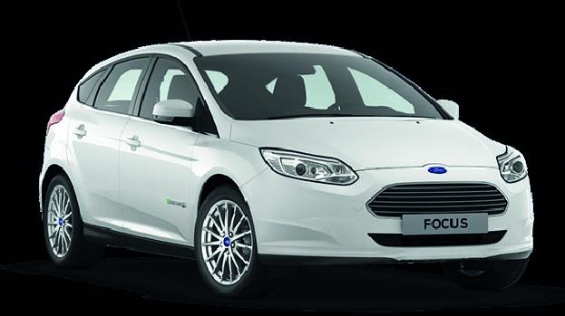 Kaum ein optischer Unterschied zu seinen konventionell angetriebenen Pendants: Der Ford Focus Electric wurde 2015 in Deutschland 15 mal neu zugelassen. Platz 14