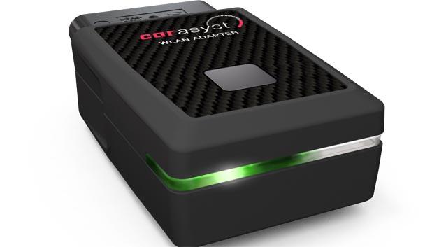 Der Car Asyst Adapter ist einfach zu handhaben und lässt sich wie jedes gängige WLAN-Gerät mit dem Smartphone verbinden.