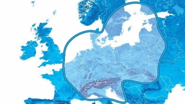 Der Empfangsbereich für den neuen Satellitendienst »Filiago 4.0«.