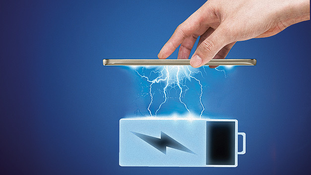 Lithium-Ionen-Technologie für Konsumelektronik-Applikationen.