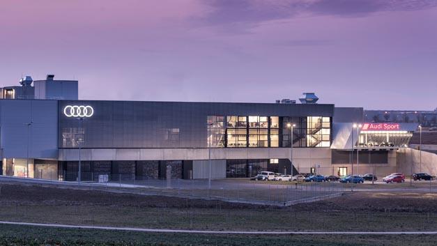 Neue Name: Die Quattro GmbH heißt jetzt Audi Sport.
