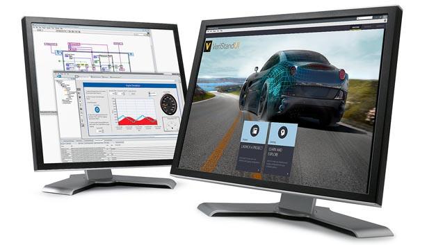 VeriStand bietet HiL-Funktionen für das Testen autonomer und vernetzter Fahrzeuge.