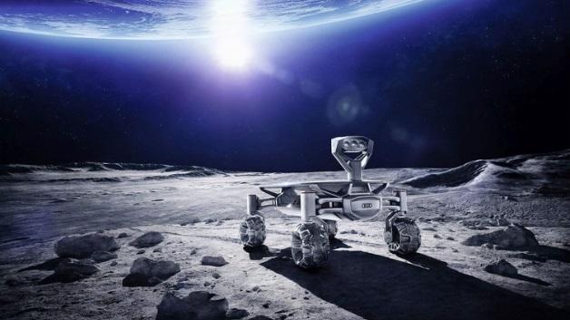 Der Audi lunar quattro hat inzwischen umfangreiche Belastungstests absolviert.