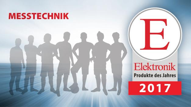 Die Produkte des Jahres 2017 in der Kategorie Messtechnik.
