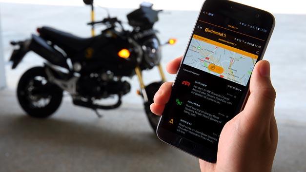 Der eHorizon für Zweiräder vernetzt Biker untereinander, gibt Motorrad-Communities eine gemeinsame Plattform und ermöglicht den Austausch wichtiger Streckeninformationen